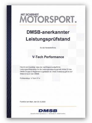DMSB-Zertifikat VT4